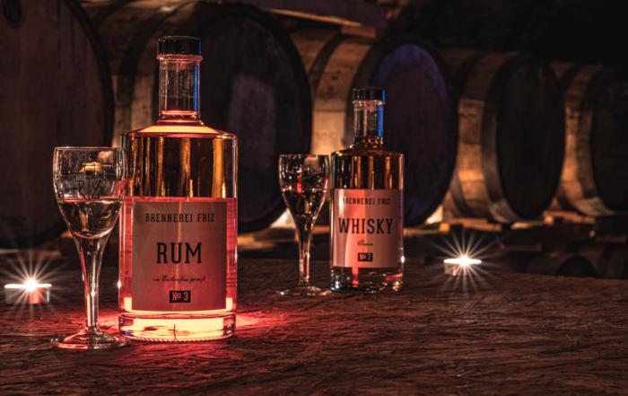 Brennerei Friz - Rum - Whisky